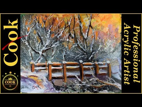 Bridge the Gap in Your Acrylic Painting Skills with Ginger Cook