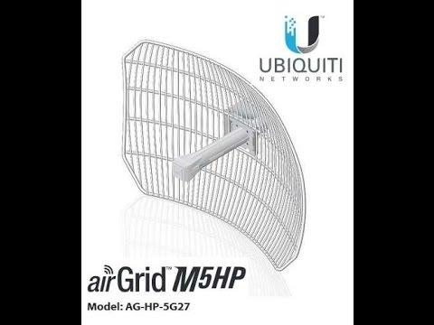 Ubiquiti AirGrid HP-5G27 Firmware-File (2017 Update)