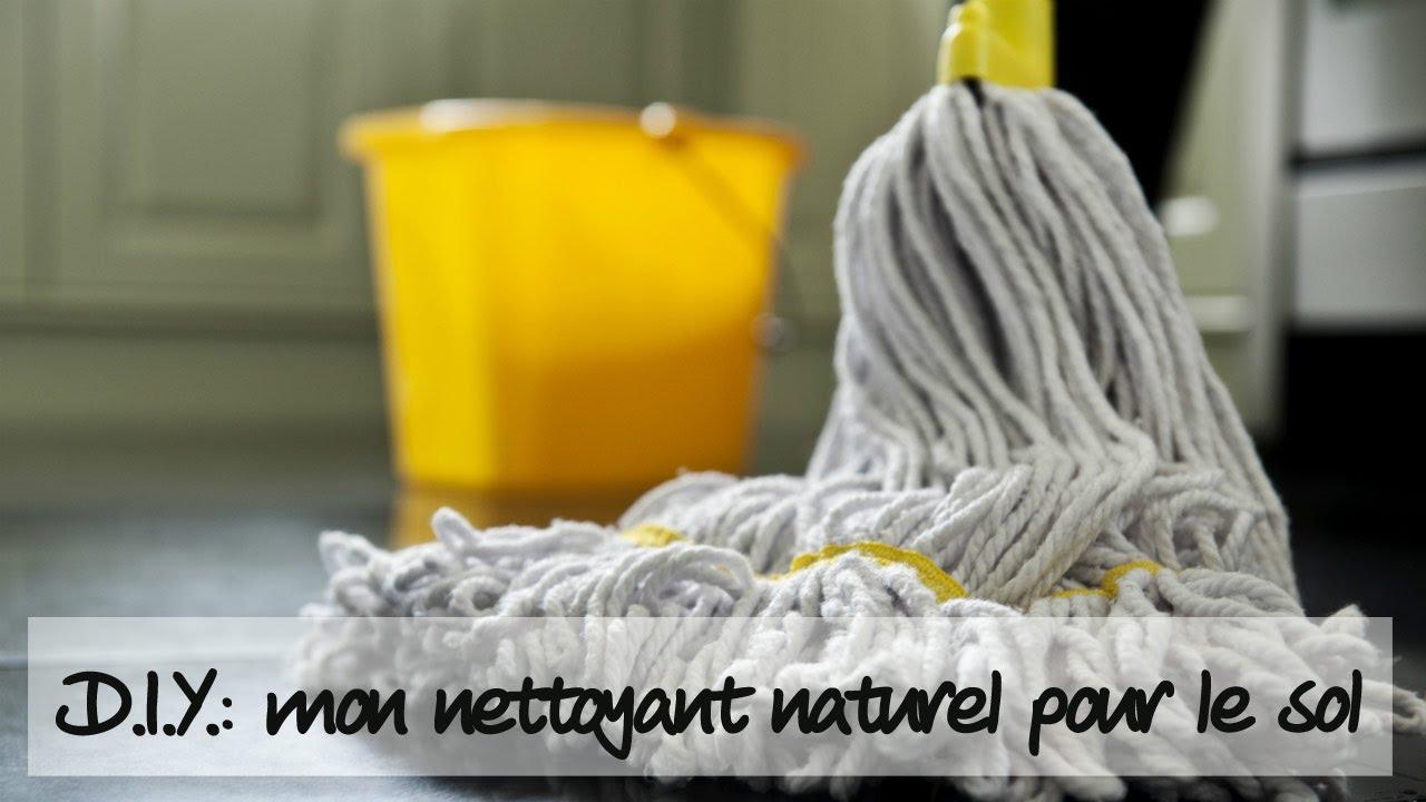 d i y comment faire un nettoyant naturel pour les sols youtube. Black Bedroom Furniture Sets. Home Design Ideas