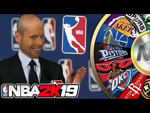NBA 2K19 Wheel of NBA TEAMS!