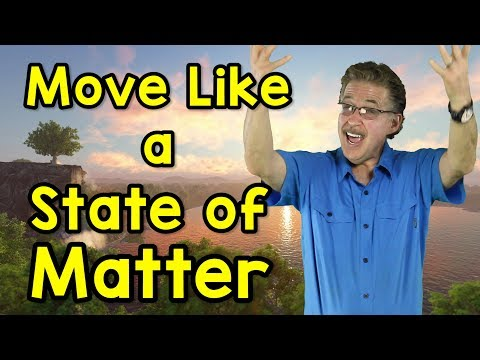 Move Like a State of Matter | Science Song for Kids | Solid, Liquid, Gas | Jack Hartmann