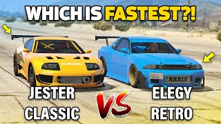 DINKA JESTER CLASSIC vs ANNIS ELEGY RETRO CUSTOM - GTA 5 Online