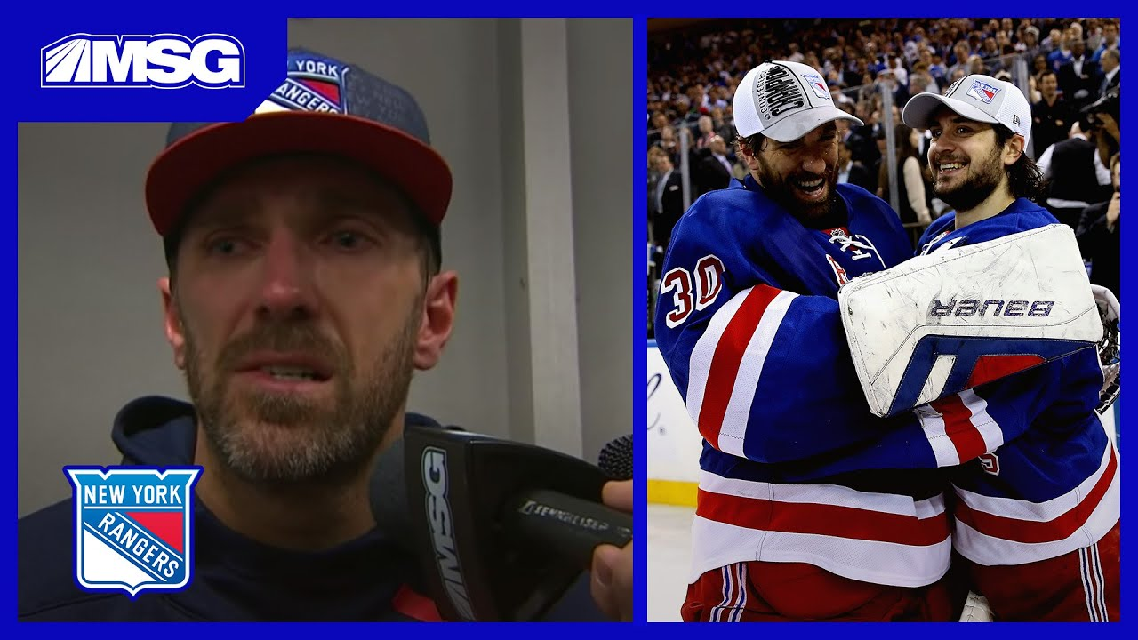 Henrik Lundqvist Gets Choked Up Talking About Mats Zuccarello Trade