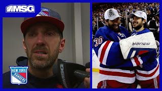 Henrik Lundqvist Gets Choked Up Talking About Mats Zuccarello Trade | New York Rangers Post Game