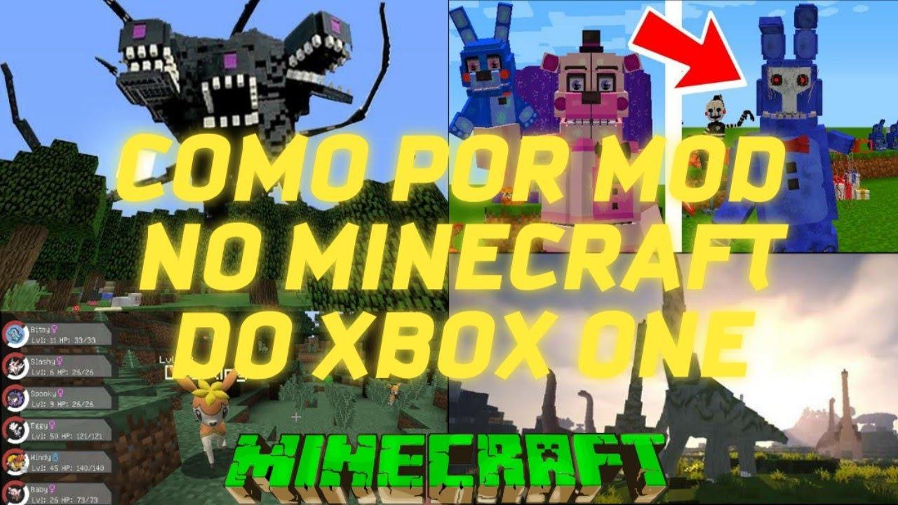 COMO POR MOD/ADDONS NO MINECRAFT DO XBOX ONE 2020 ≪LOKY ...