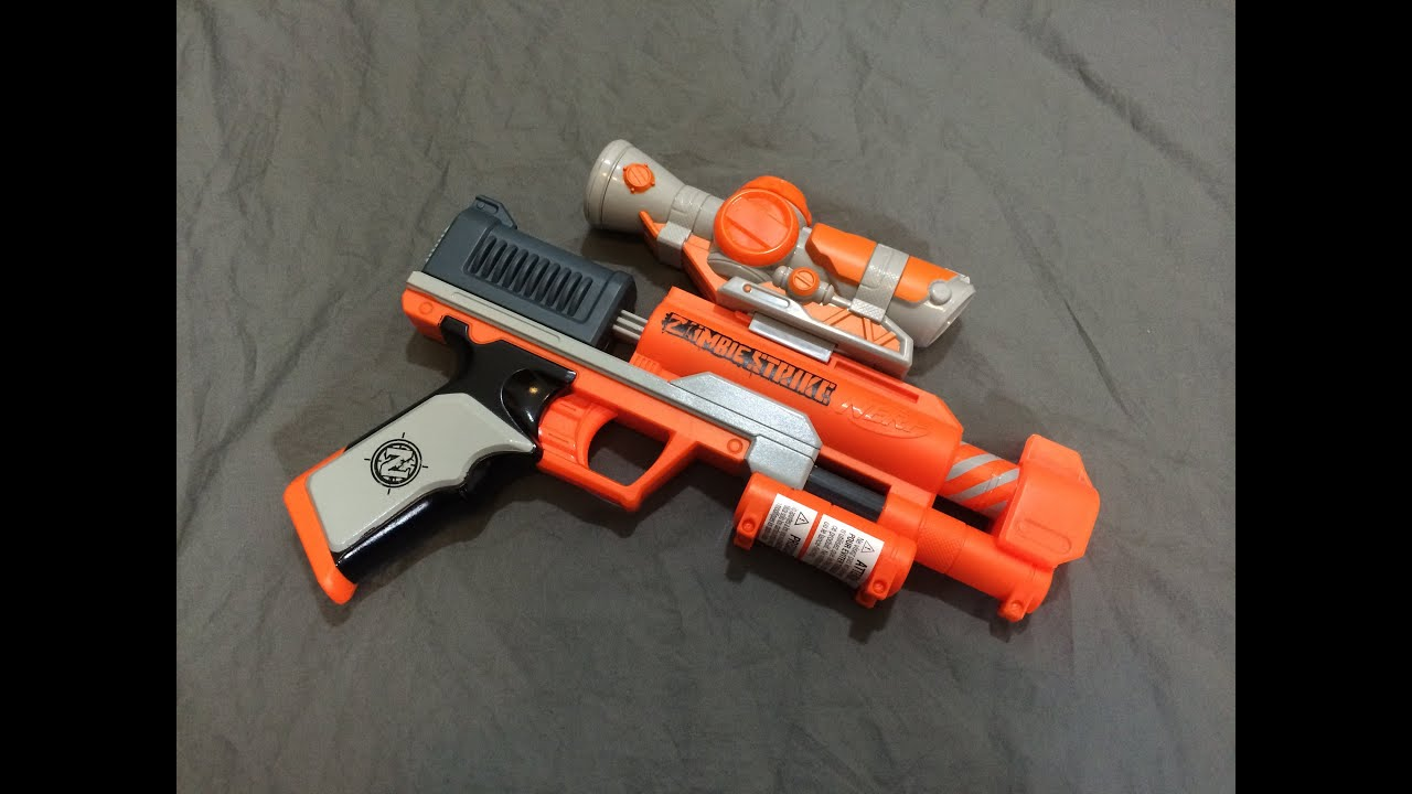 [REVIEW] Nerf Zombie Strike Clear Shot Review & Firing Test