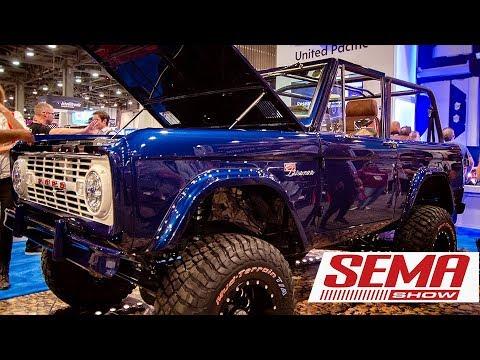 TOP Ford Broncos at SEMA 2018