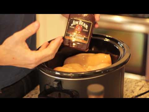 How to make bbq chicken breast in the crock pot on high