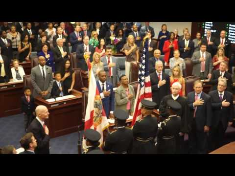 Swearing In of Randolph Bracy III to the 2016 Florida Senate