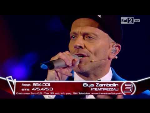 Max Pezzali feat Elya Zambolin : L'universo tranne noi Live ( The Voice Of Italy)