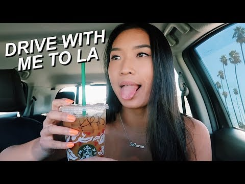 DRIVING TO LA ALONE + Q&A |  my next travel destination + plans for the future!