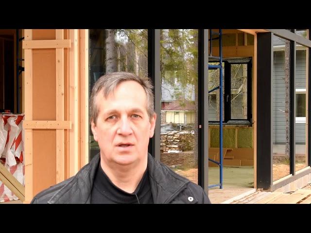 Каркасно - фахверковый  дом, важность проектирования при строительстве.