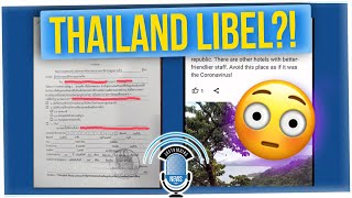 American Facing Jail for Negative Hotel Review in Thailand ft Tim C Jason Chen