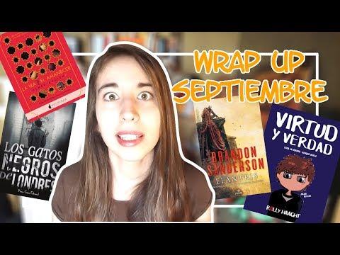Wrap Up - Libros De Septiembre -- Brandon Sanderson Y Rolly Haacht
