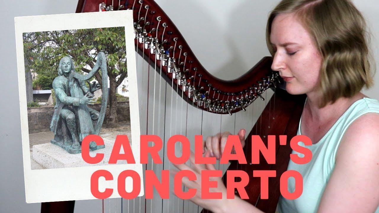 Carolan S Concerto Small Harp Sheet Music Youtube