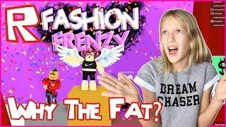 Warum das Fett / Roblox Fashion Frenzy
