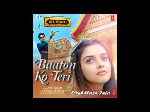 Baaton Ko Teri Karaoke with Lyrics=All Is Well