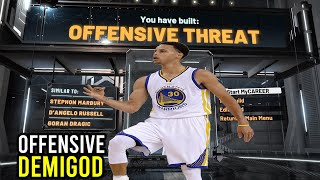 NBA 2K20 How to Make the Best Offensive Threat Build!!
