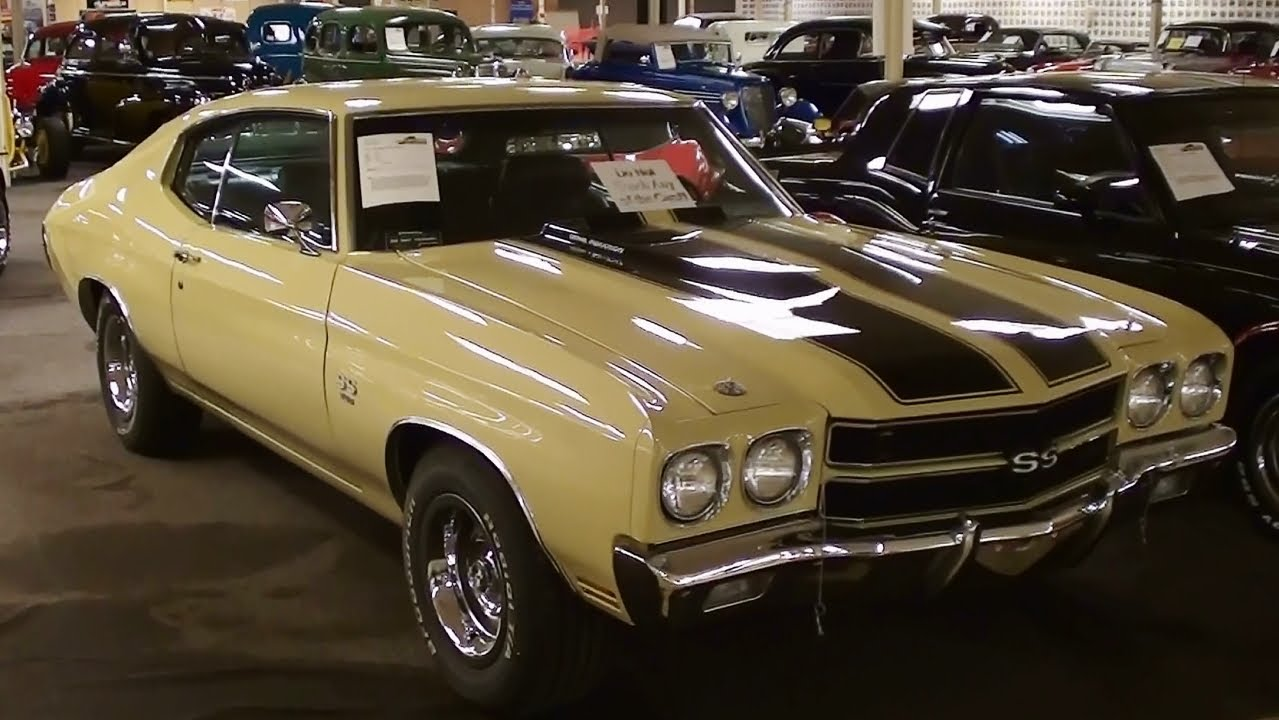 Chevrolet Chevelle Ss Big Block Muscle Car Youtube