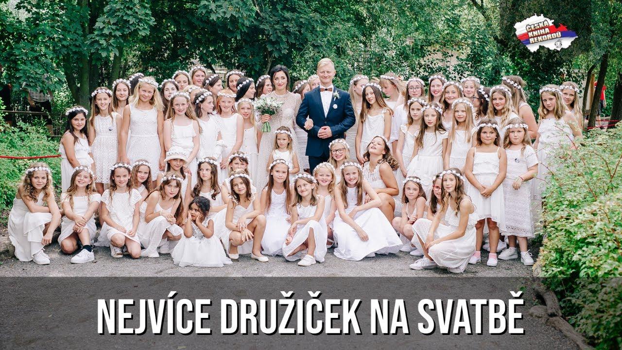 Video Nejvíce družiček na svatbě