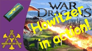 War Dragons - Crystal Howitzer in ACTION! All the details, tests and thoughts! Also Naja flights :)