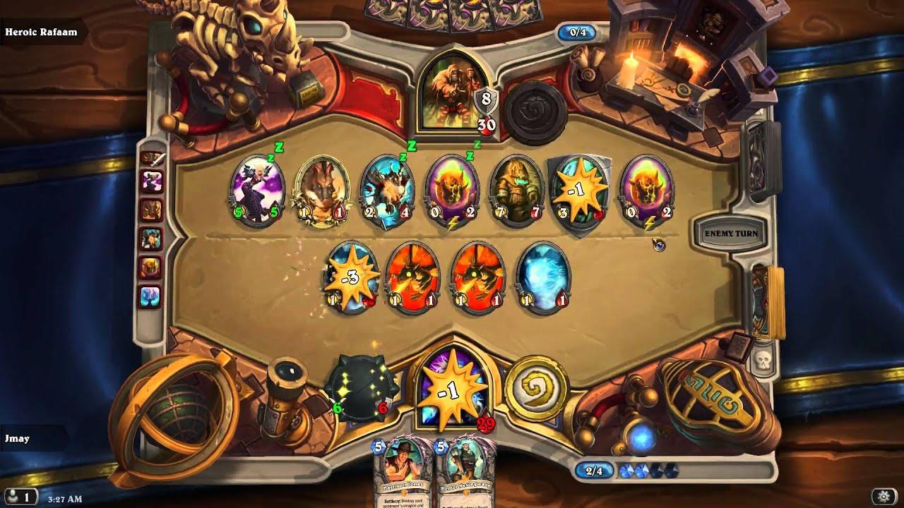 Hearthstone Heroic Arch Thief Rafaam League Of