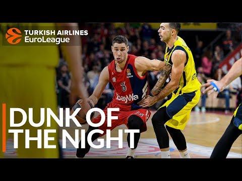 Dunk of the Night: Stefan Jovic, FC Bayern Munich