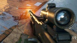Gun Game Gameplay in COD WWII