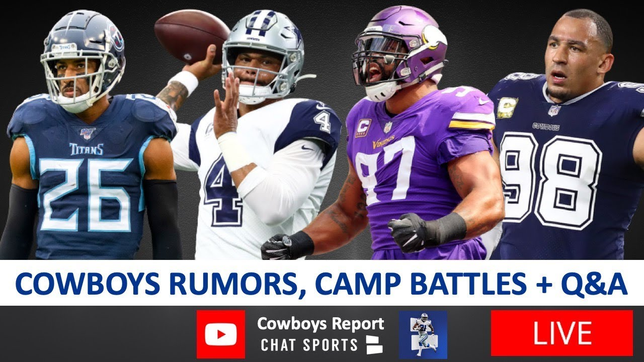 Dallas Cowboys Report With Tom Downey (August 13)
