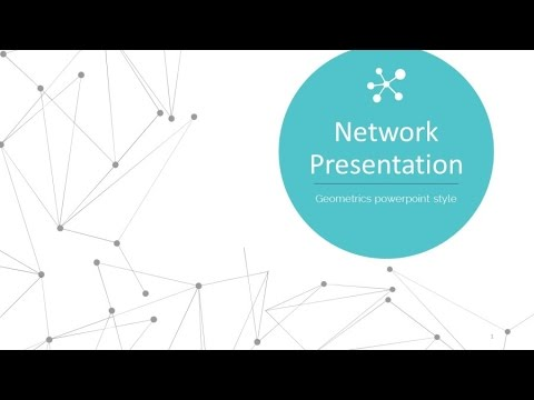 Network presentation powerpoint template youtube network presentation powerpoint template toneelgroepblik Gallery