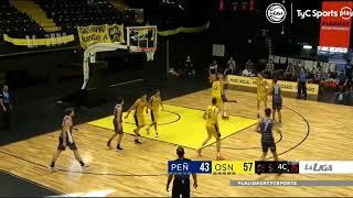 #LNB - Peñarol 72-78 Obras Basket (23/1/2021)