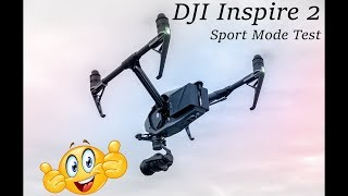 Ripping the Inspire 2 -- DJI Inspire 2 Sport Mode Test -- DJI Inspire 2 is KING of the quadcopters!