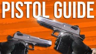 Modern Warfare In Depth: Pistol Guide (X16, 1911, M19, Deagle, Magnum, & Executioner)