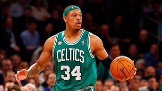 Repeat youtube video Paul Pierce: From his First Basket to 25000 Points