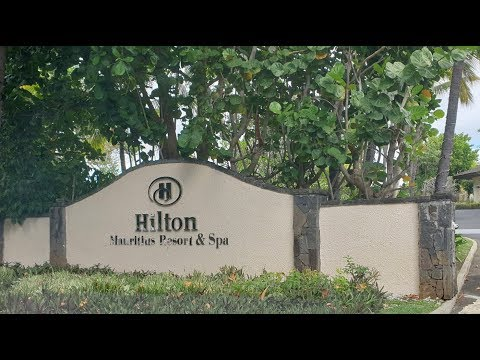 Hilton Mauritius - Review Of King Junior Beach Front Seat  1001
