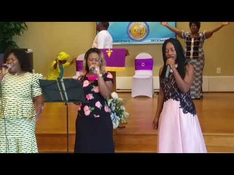 09 Adonai, we worship you, vidéo 1 -  Groupe Psaume 150 -  MFCI Church   Culte du 24 Juin 2018