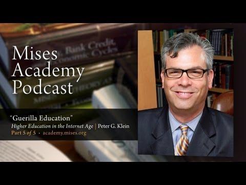 Guerilla Education | Peter G. Klein