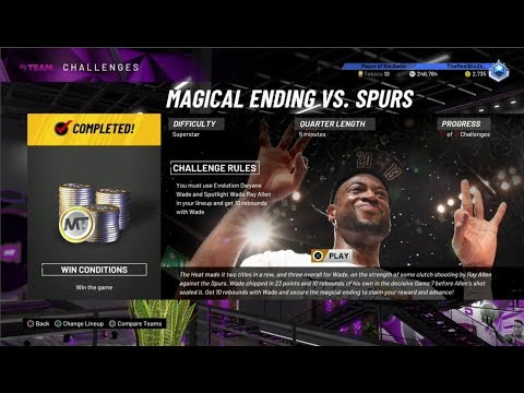HOW TO GET 10+ REBOUNDS WITH DWYANE WADE! SPOTLIGHT: DWYANE WADE CHALLENGE TIPS! NBA 2K20