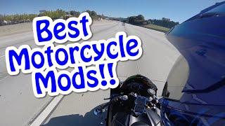 Best Motorcycle Mods! Top 5!