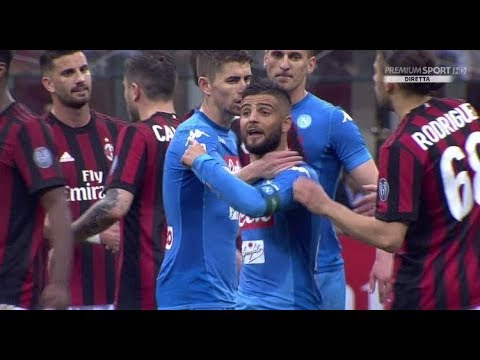 (VIDEO) Lucas Biglia and Lorenzo Insigne fight and worst language