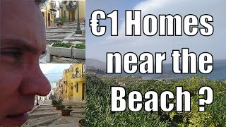 Are there 1 euro houses in Termini Imerese Seaside community tour
