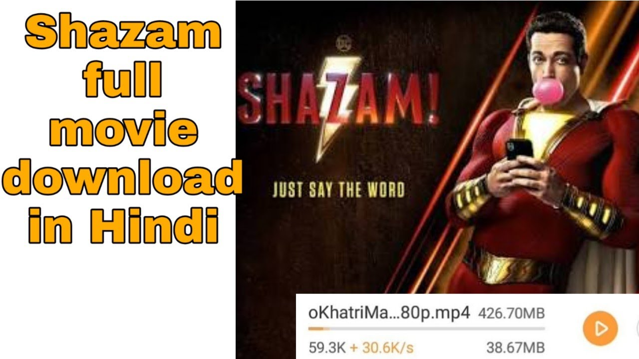 Download (100% real) how to download shazam movie in hindi.//tk tech helper//