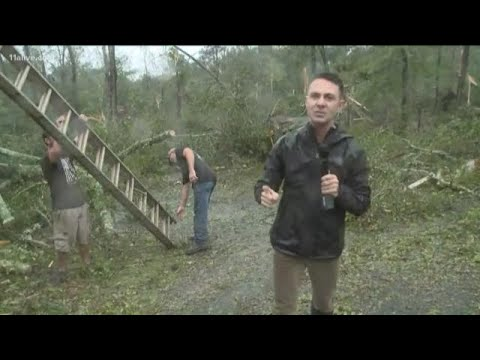 Confirmed tornado touches down in Crawford County, Georgia