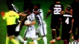 Kostas Manolas vs Alvaro Morata (juventus - Roma full fight)