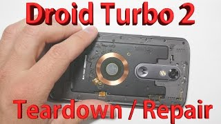 Droid Turbo 2 Teardown - Screen Repair, Battery Replacement COMPLETE
