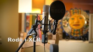 Rode iXLR Test Using the NT1-A Microphone by Rode