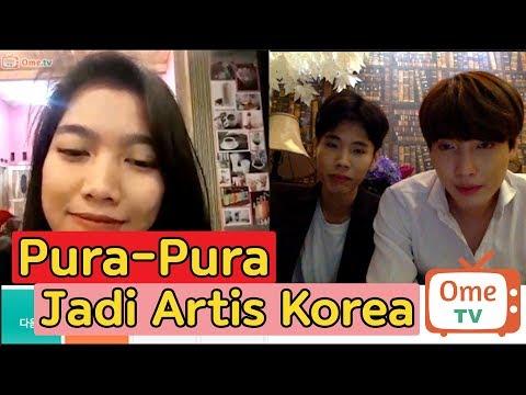 Pura-Pura Jadi Arits Korea DI OME TV 인도네시아에서 한국 연예인인척 해보기 thumbnail