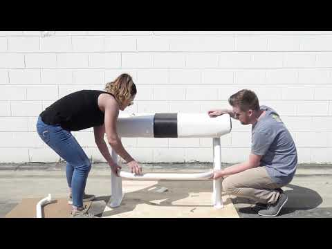 How To Assemble Your Fishmaster Pro Series Leaning Post