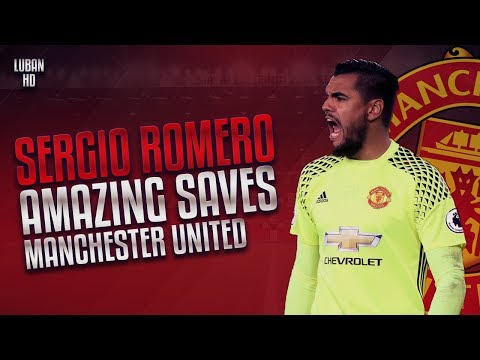 SERGIO ROMERO EDIT | BEST SAVES | MANCHESTER UNITED