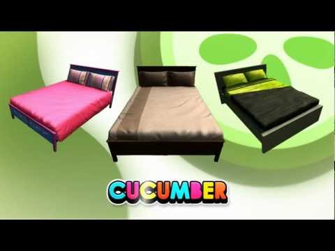PlayStation Home - Cucumber Poser Beds - 20th June 2012